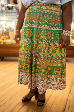 India Wrap Around Skirt