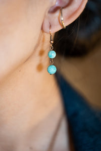Sweet Pea Earring - Aquamarine