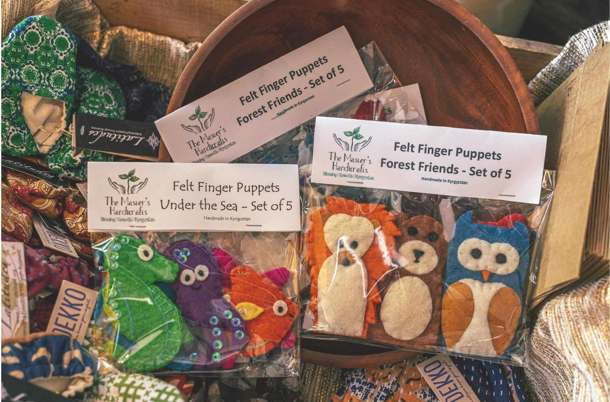 The Master's Handicrafts: Finger-Puppets