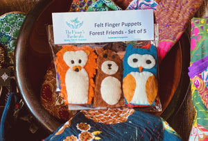 The Master's Handicrafts: Finger-Puppets Forest Friends