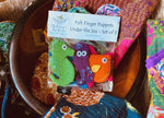 The Master's Handicrafts: Finger-Puppets Under The Sea