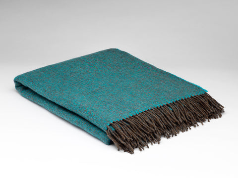 BLUE MOUNTAIN PURE WOOL THROW