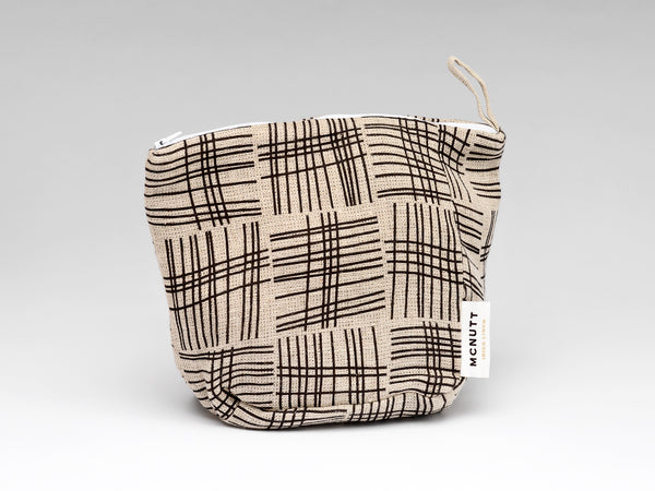 LINEN MAKEUP BAG - WEAVE