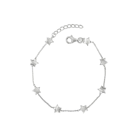 YOU ARE MY SHINING STAR BRACELET IN SILVER