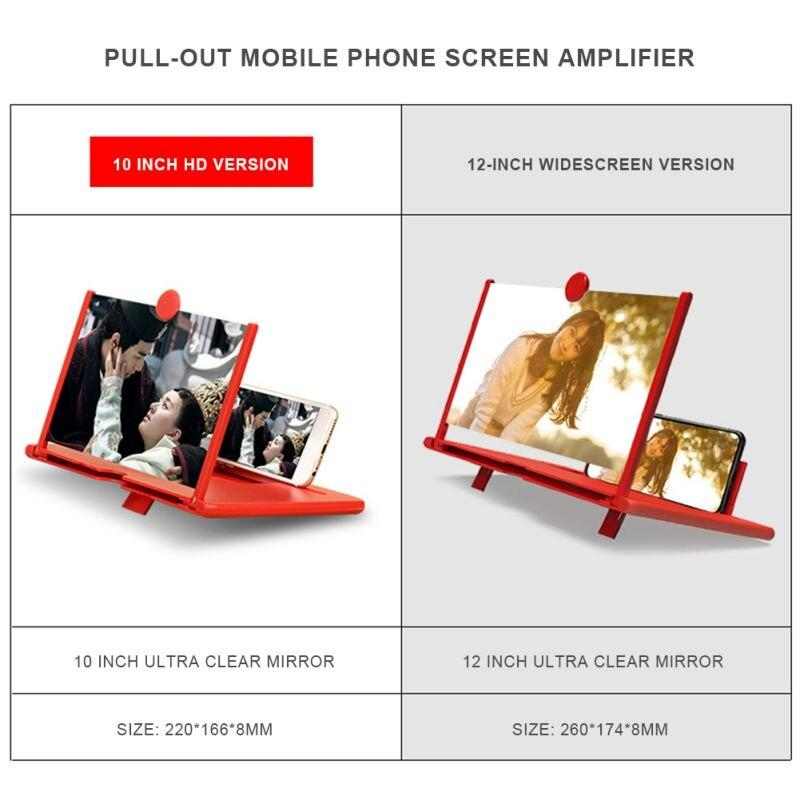 3D Mobile Phone Screen Magnifier with HD Display - Gear Elevation