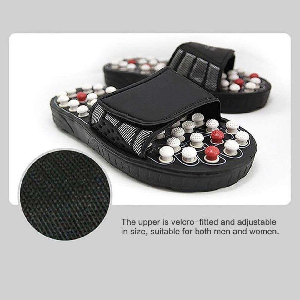 Acu-Slippers™ - Acu-Pressure Relief Foot Massage Slippers - Gear Elevation