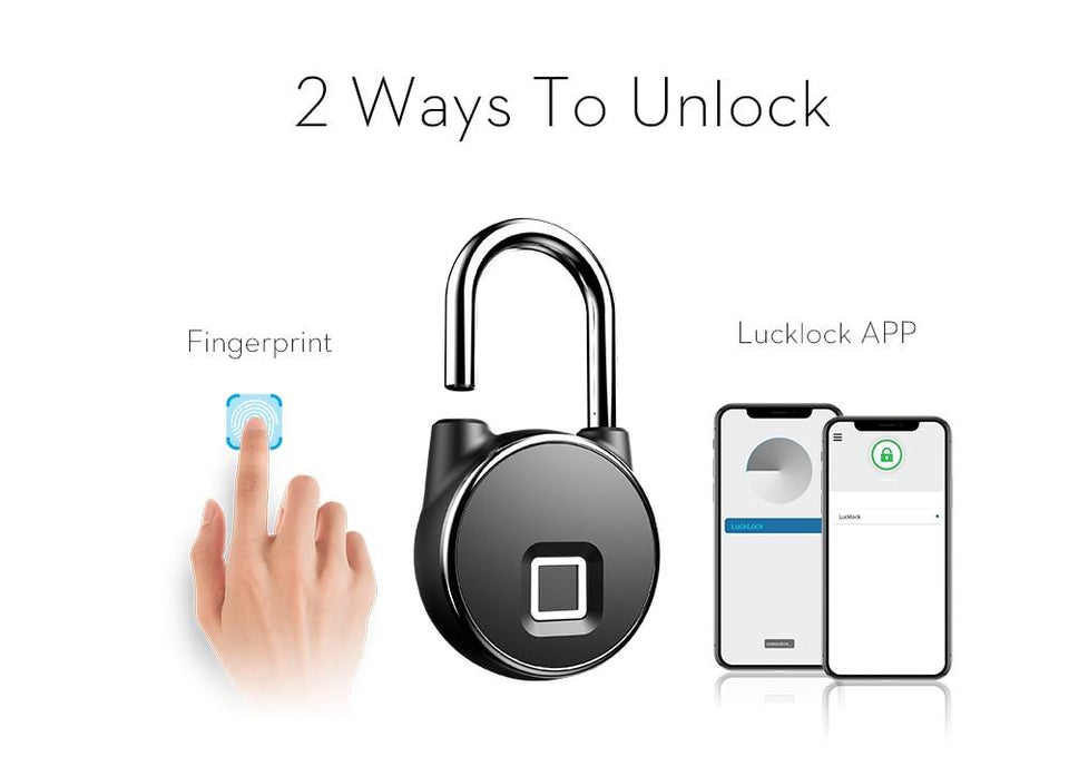 Bluetooth Fingerprint Lock - Gear Elevation