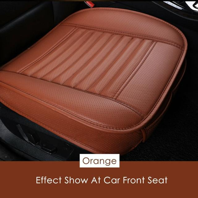 Dani Leather Charcoal Car Seat Cushion (Absorbing odor) - Gear Elevation