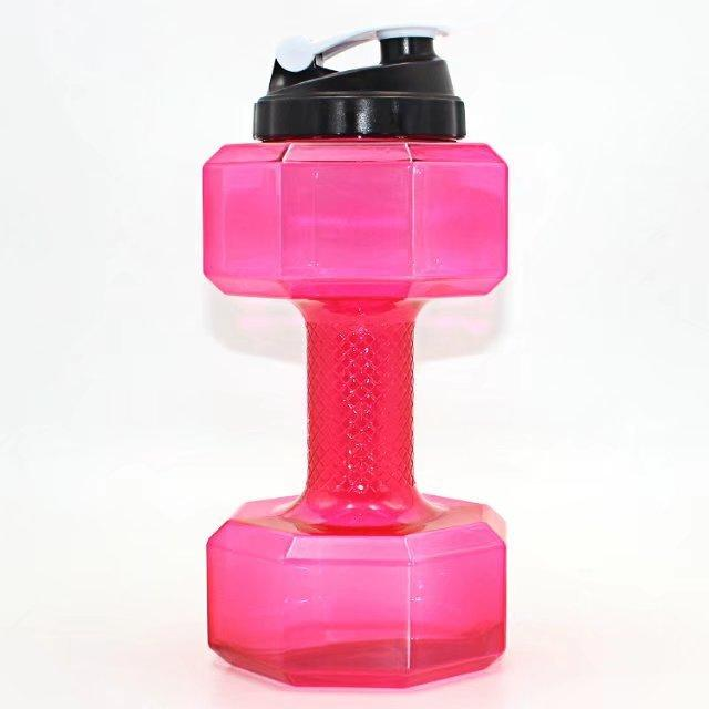 Dumbbell Water Bottle - Gear Elevation