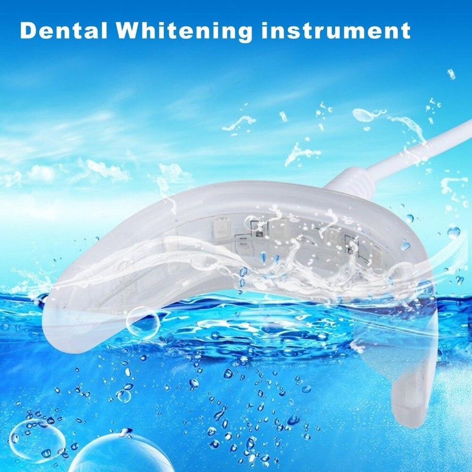 Efficient Cold Blue Light LED Tooth Whitening Kit - Gear Elevation