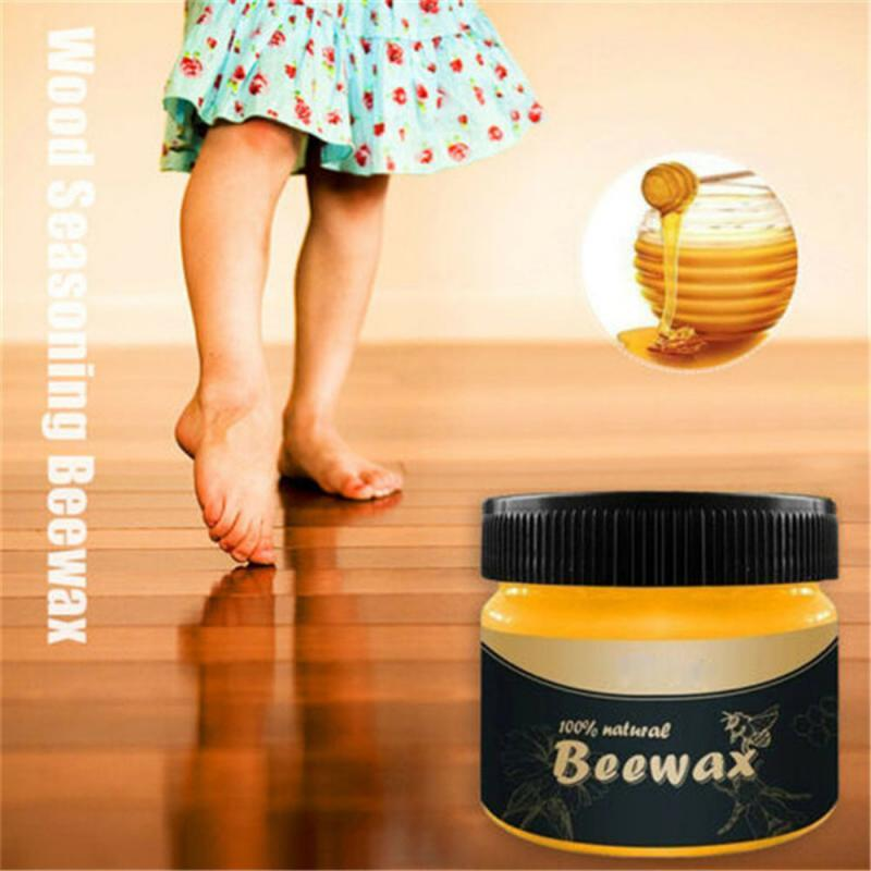 Floor & Furniture Renovating Natural Beeswax - Gear Elevation