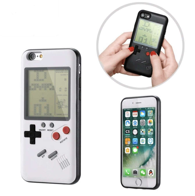 iPhone Retro-Game Case Black & White - Gear Elevation