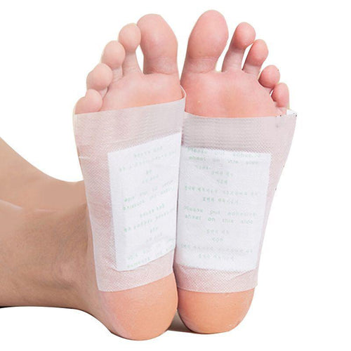 Kinoki Detox Foot Pads - Organic Herbal Cleansing Patches (50 Pairs) - Gear Elevation