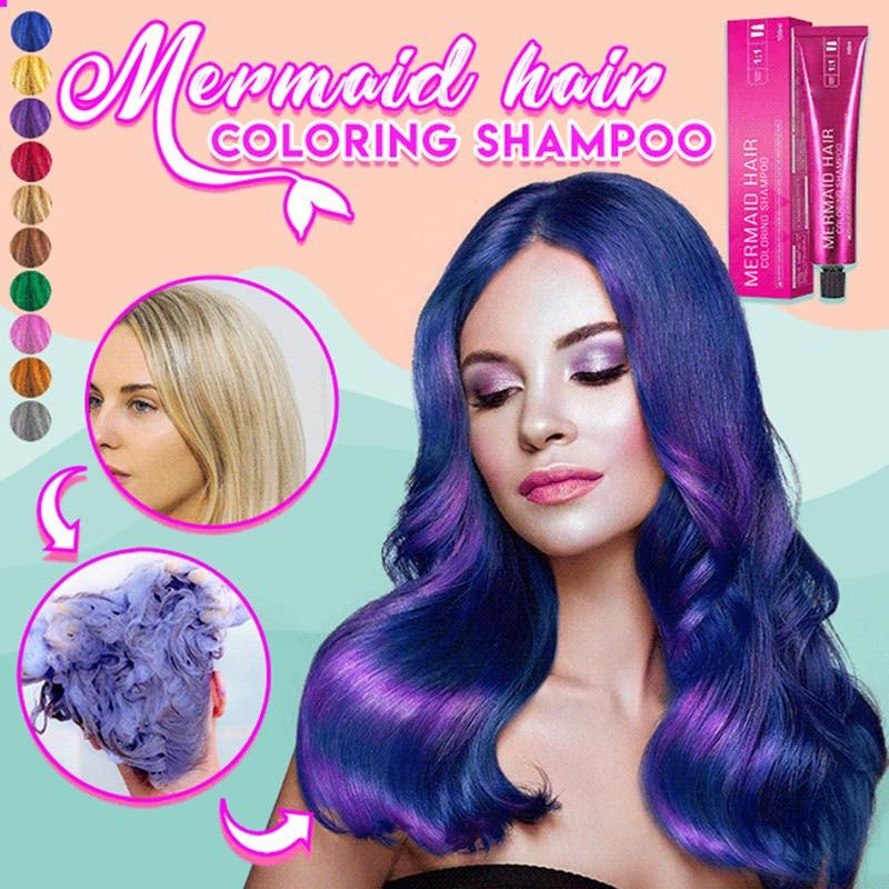 New 2020 Mermaid Hair Coloring Shampoo - Gear Elevation