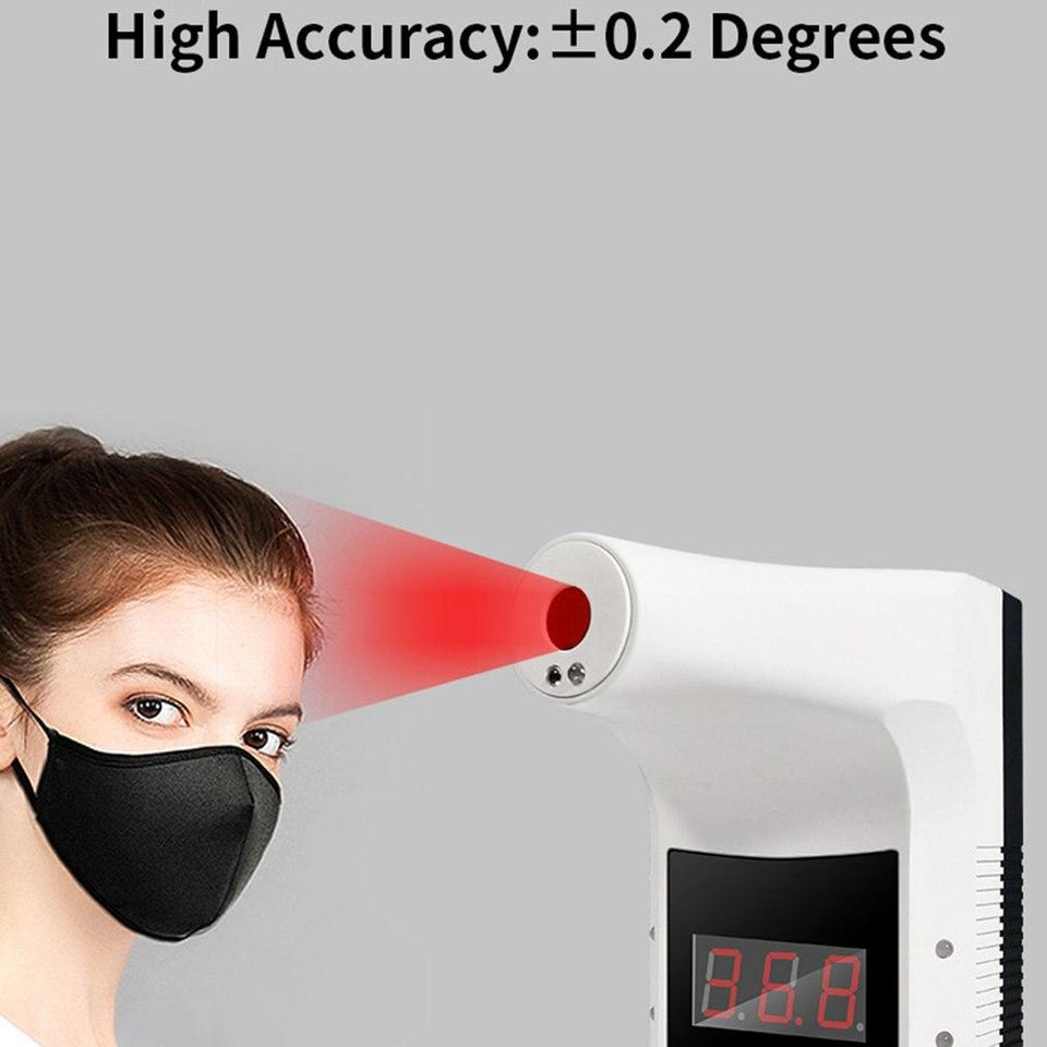 Non-contact Wall-mounted Infrared Thermometer - Gear Elevation