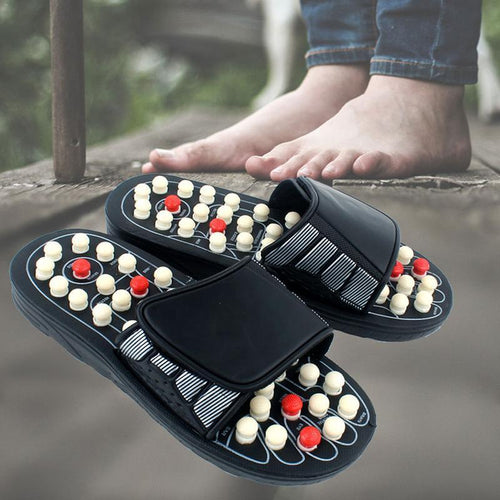 Premium Acupressure Foot Massager Reflexology Sandals - Gear Elevation
