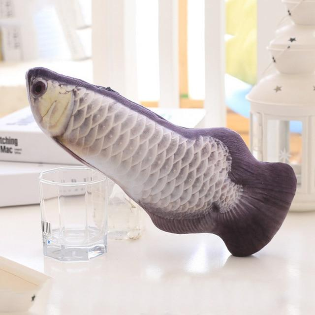 Realistic Looking Cat Kicker Fish Toy [NON-MOVING] - Gear Elevation
