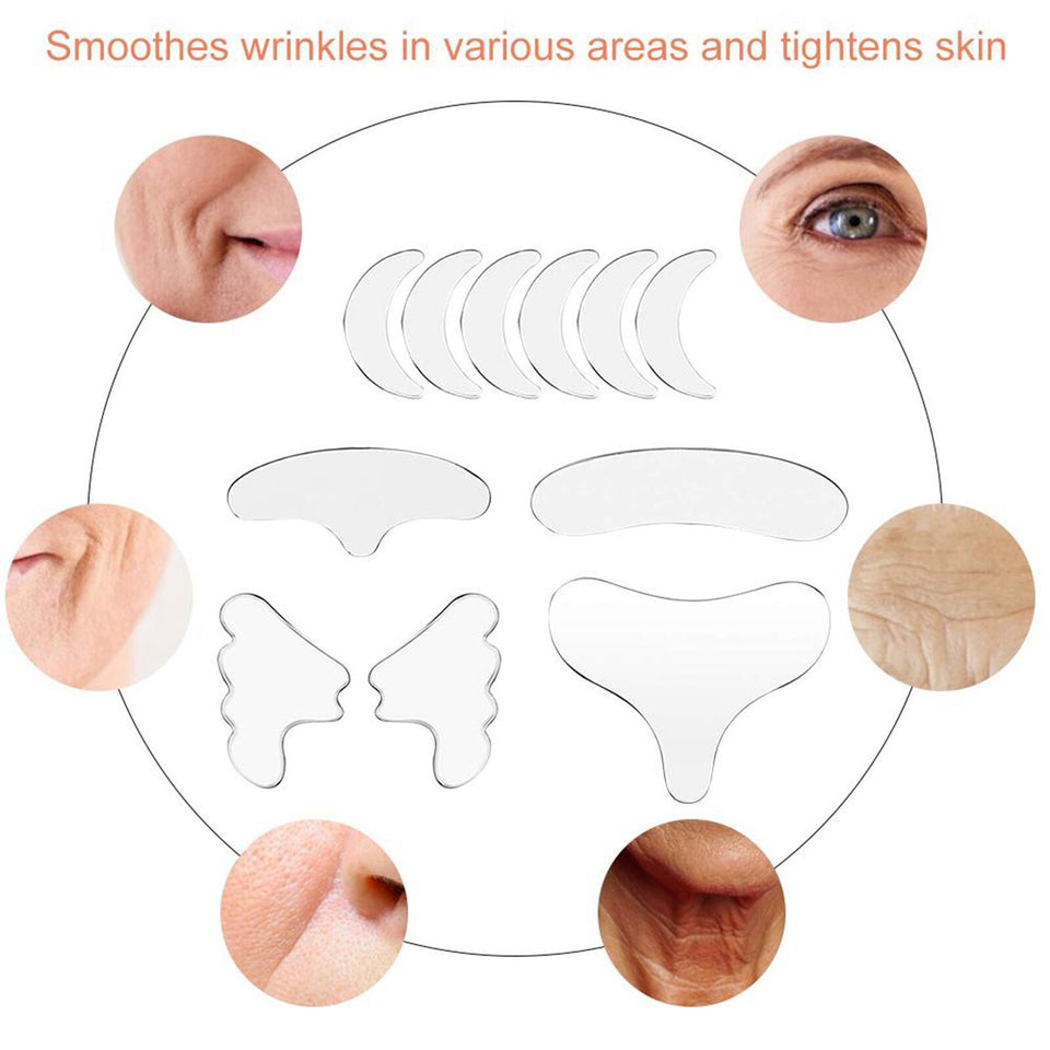 Reusable Silicone Anti-Wrinkle Patches - Gear Elevation