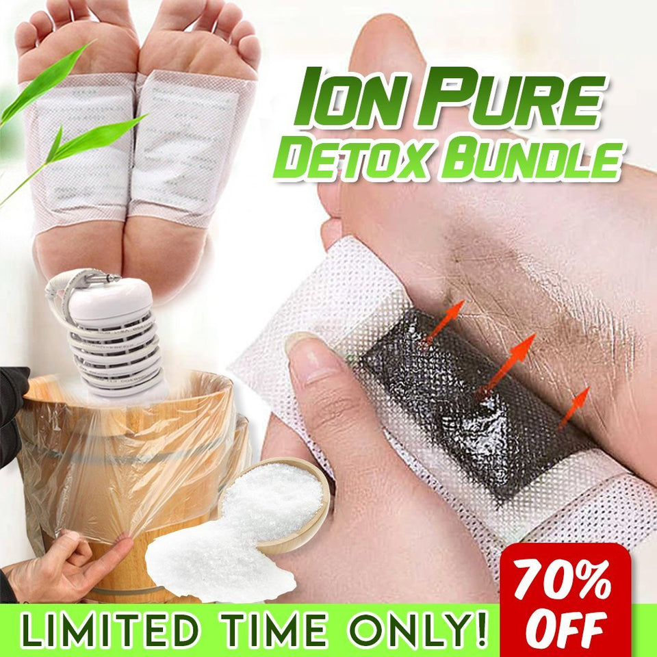 The Ultimate Ion Pure Detox Bundle (Save $185!) - Gear Elevation
