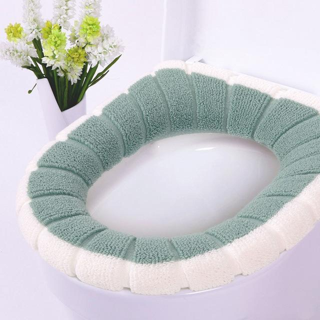 Universal Warm Soft Washable Toilet Seat Cover - Gear Elevation