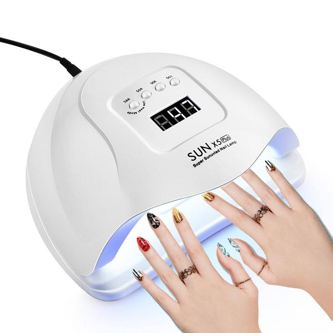 UV/LED Nail Dryer Lamp for Drying Gel Polish - Gear Elevation