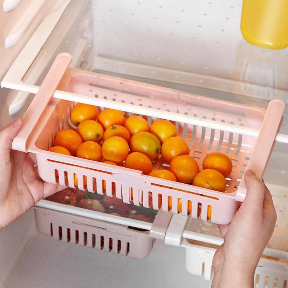 WonderKitchen ™ - Pull Out Refrigerator Organizer - Gear Elevation