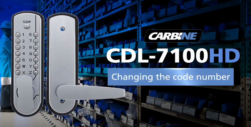 How to change code on Carbine CDL7100 Digital Lock