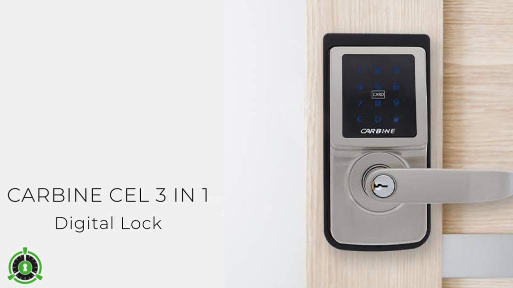 Product Feature: Carbine CEL 3 in 1 Digital Lock
