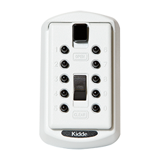 Kidde S6 Wall Mount Keysafe: 001004 2 Key