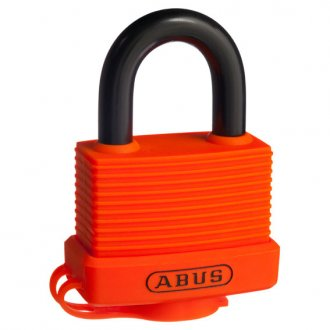 ABUS P/LOCK 70AL/45 DP RESCUE ORG 70AL45ROC