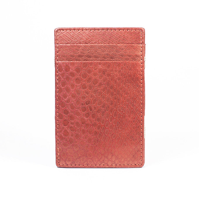 PôK Wallet Card Holder Duke Bloody Orange