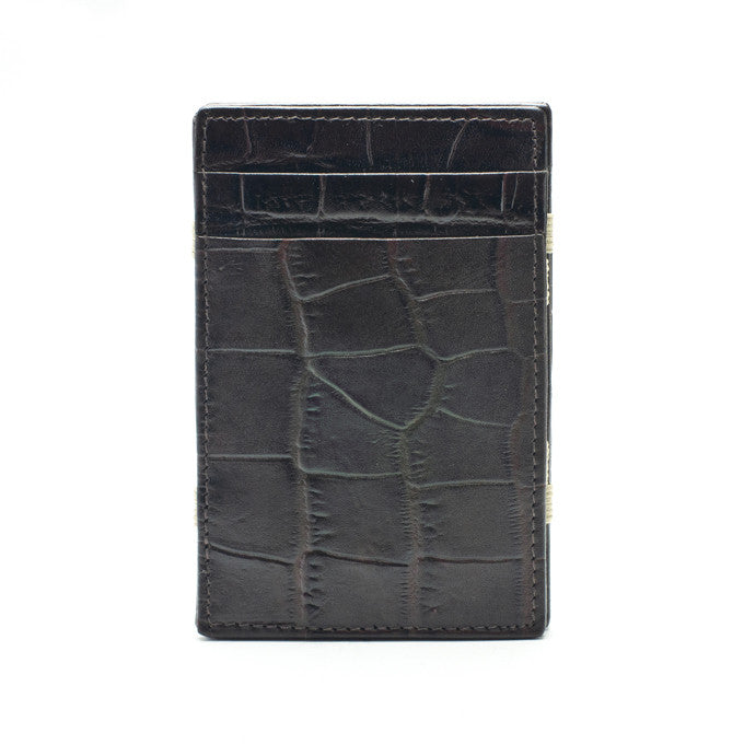 PôK Wallet Card Holder Duke Brown