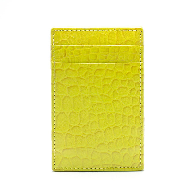PôK Wallet Card Holder Duke Yellow