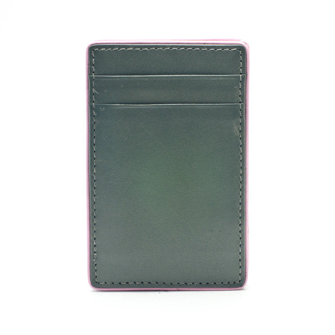 PôK Wallet Card Holder Easy Rider Grey Pink