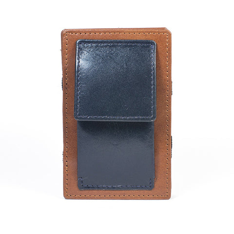 Pocket Cognac Navy Blue