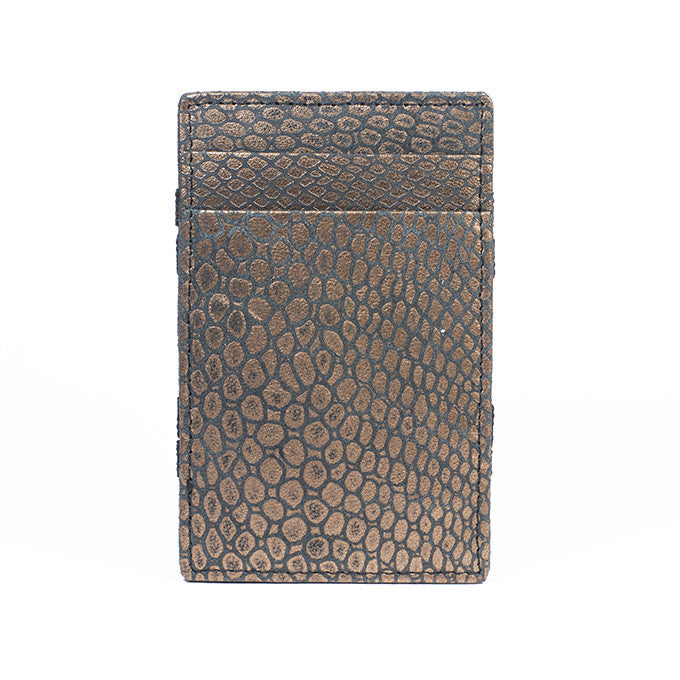 PôK Wallet Card Holder Duke Goldy Black