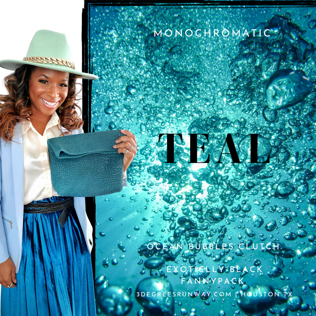 Ocean Bubbles Clutch