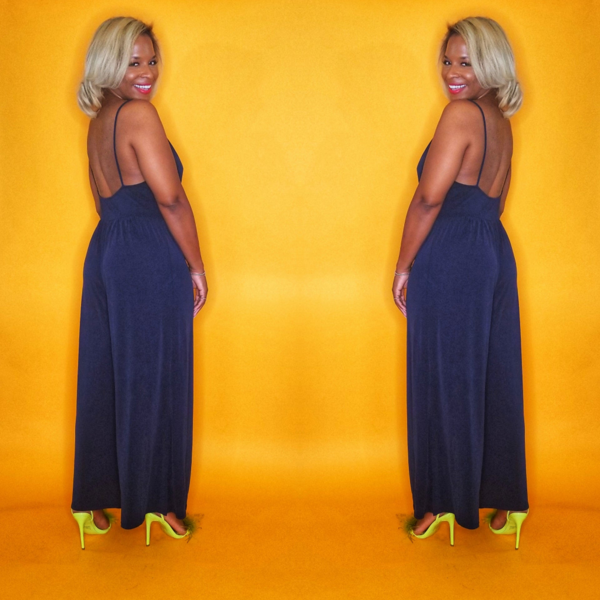 CodeBlue jumpsuit on www.3DegreesRunway.com