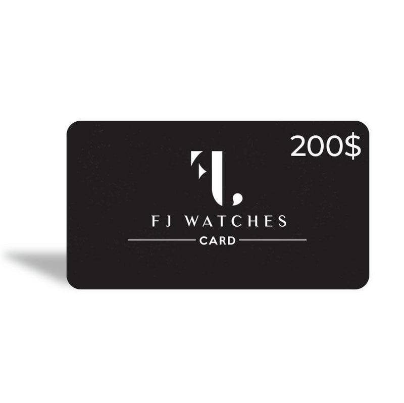 Gift card - FJ Watches