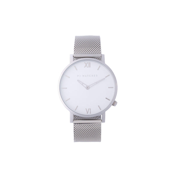 SILVER SUN - FJ Watches