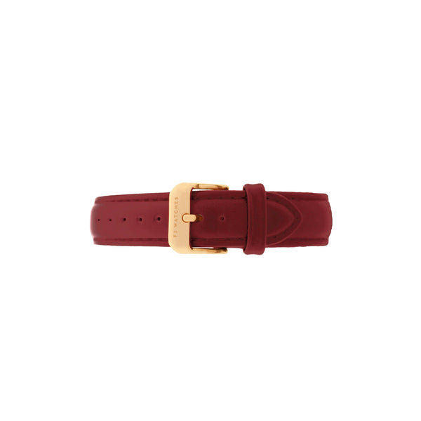 Burgundy strap - FJ Watches