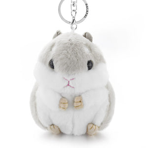 ADORABLE Hamster Keychain (Fluffy Sidekick!) - 50% OFF Today!