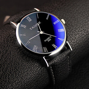 VINTAGE Analog Watch - BLUE TINT!