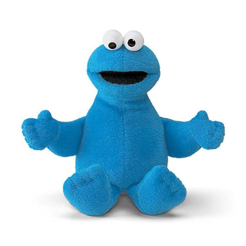 Cookie Monster Beanbag Peluche de 16cm