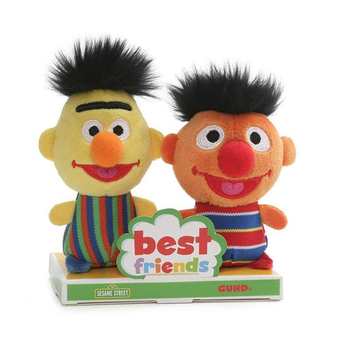 Beto y Enrique Best Friends Peluches de 10cm