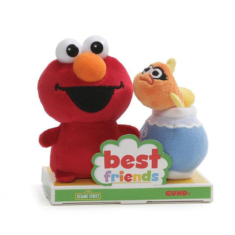 Elmo y Dorothy Best Friends Peluches de 10cm