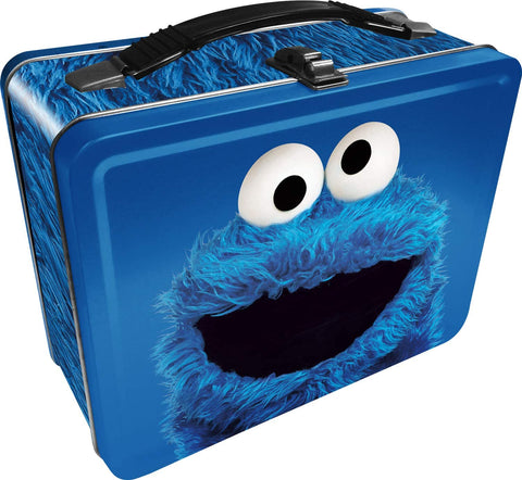 Cookie Monster Lonchera Multiusos de Metal
