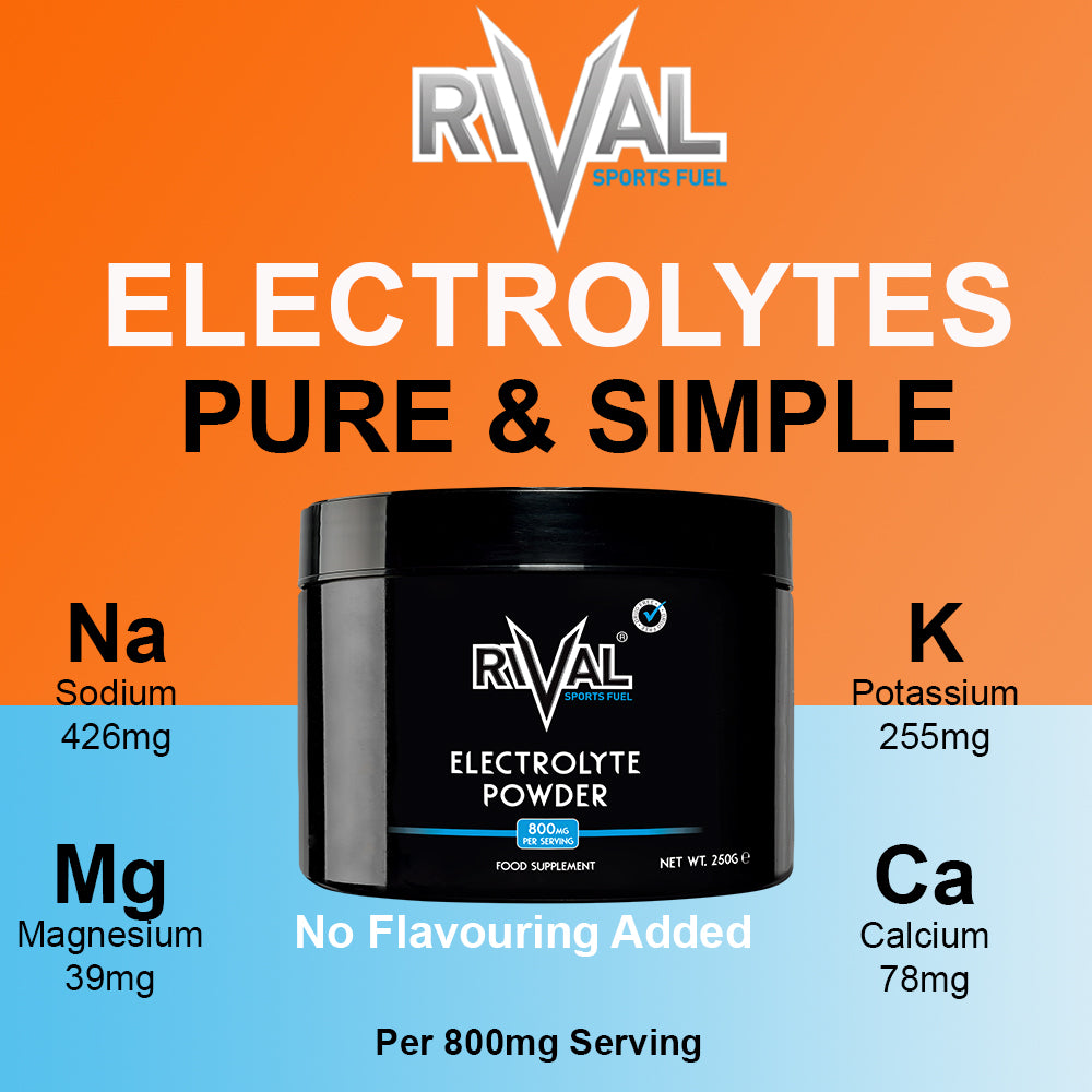 Electrolyte Powder Drink Mix (No Flavour Added) 312 Servings per Tub Sugar Free, Keto Friendly, Vegan