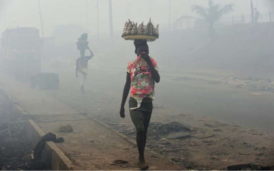 NIGERIA AIR POLLUTION ATCMASK