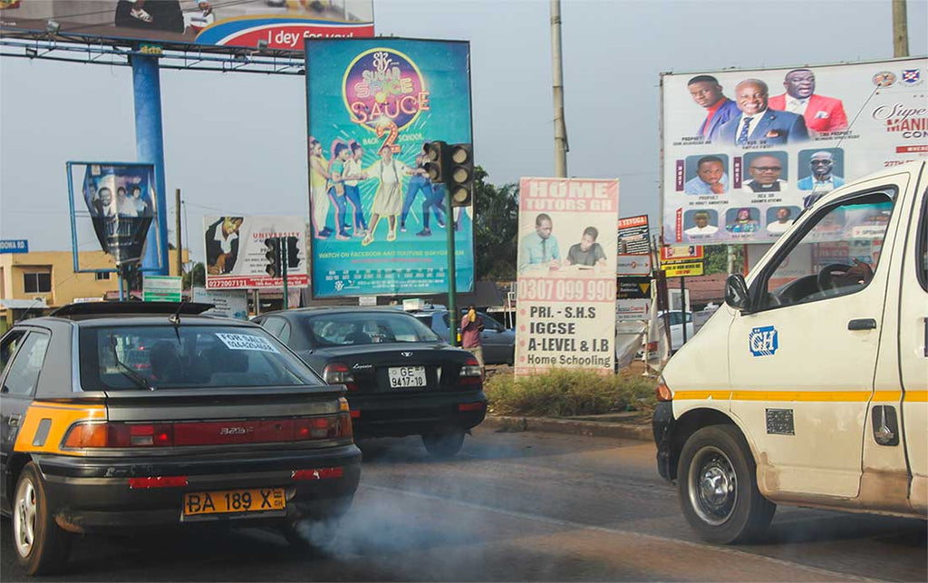 Air Pollution in Ghana